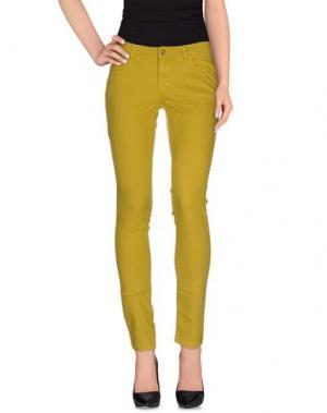 Джинсовые брюки ATOS LOMBARDINI. Цвет: охра