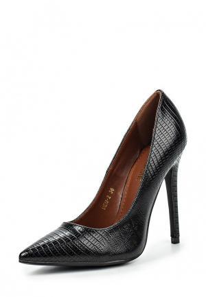 Туфли TT. Цвет: черный
