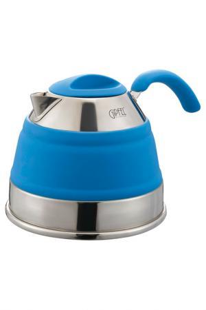 Чайник 1,5 л Gipfel. Цвет: синий, стальной