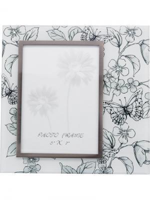 Рамка для фотографии  Эскиз JARDIN D'ETE. Цвет: черный, белый