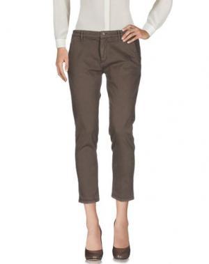 Повседневные брюки 40WEFT. Цвет: хаки