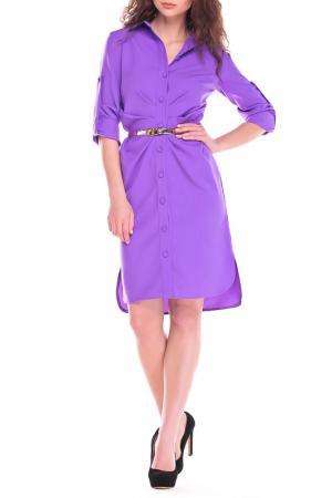 Платье Laura Bettini. Цвет: светло-фиалковый