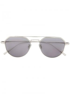 Солнцезащитные очки Charleston Maska. Цвет: металлический