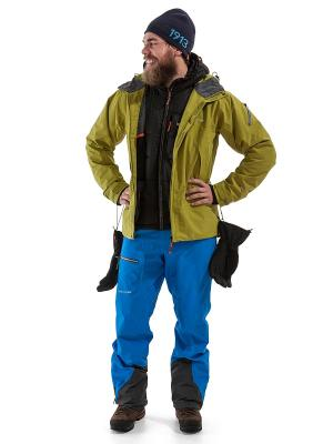 Куртка SAPI DIDRIKSONS. Цвет: светло-зеленый