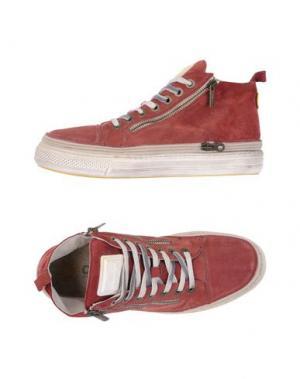 Высокие кеды и кроссовки CHANGE. Цвет: красно-коричневый