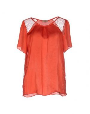 Блузка MISS MONEY. Цвет: оранжевый