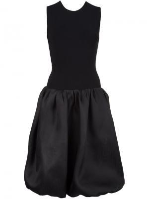 Платье без рукавов Oscar de la Renta. Цвет: чёрный