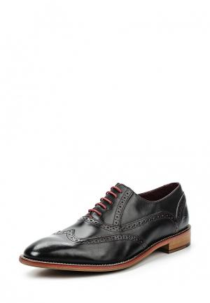 Туфли London Brogues. Цвет: черный