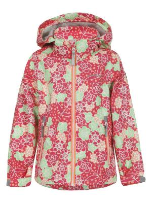 Куртка Icepeak. Цвет: зеленый, бледно-розовый, розовый
