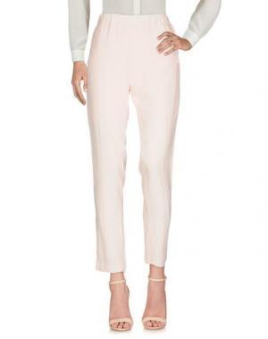 Повседневные брюки SISTE' S. Цвет: светло-розовый