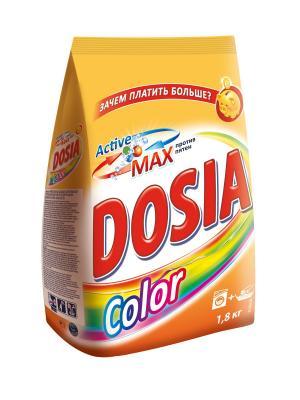 Dosia COLOR Средство моющее синтетическое порошкообразное 1,8 кг. Цвет: оранжевый