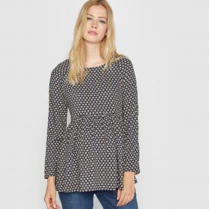 Блузка для периода беременности с принтом R essentiel. Цвет: набивной рисунок