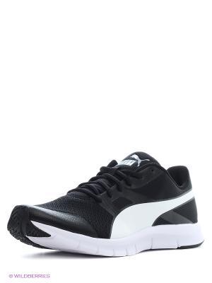 Кроссовки Flexracer Puma. Цвет: черный