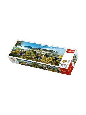 Пазл 1000 дет. панорамные- На берегу озера, Шлирзе Trefl. Цвет: белый