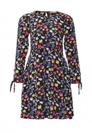 Платье Yumi. Цвет: мультиколор
