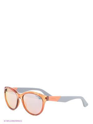 Солнцезащитные очки CARRERA. Цвет: оранжевый, серый