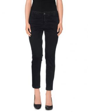 Повседневные брюки NODO. Цвет: стальной серый
