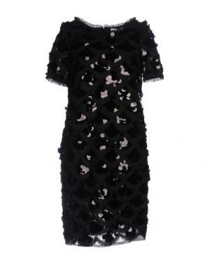 Короткое платье LALTRAMODA. Цвет: черный