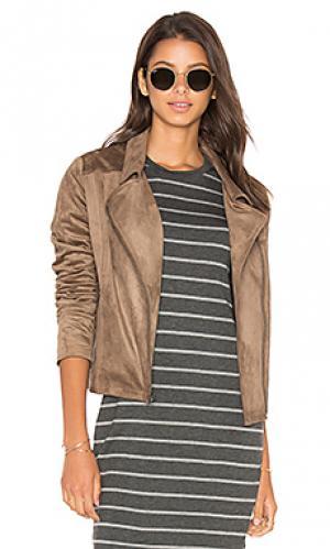 Куртка venita cupcakes and cashmere. Цвет: серо-коричневый