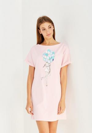 Платье Fashion.Love.Story. Цвет: розовый