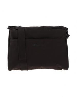 Сумка через плечо MH WAY. Цвет: темно-коричневый