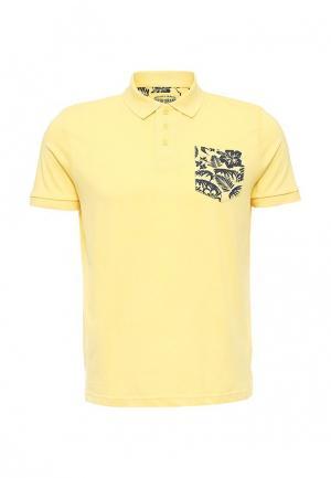 Поло Fresh Brand. Цвет: желтый