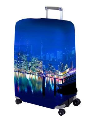 Чехол  для чемодана Voager II L/XL Coverway. Цвет: синий