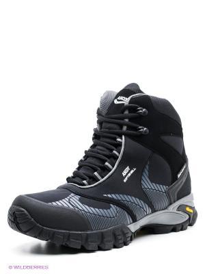 Мембранные ботинки Ascot. Цвет: черный