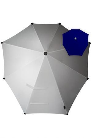 Зонт-трость SENZ. Цвет: серебристый