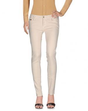 Повседневные брюки EAN 13. Цвет: слоновая кость