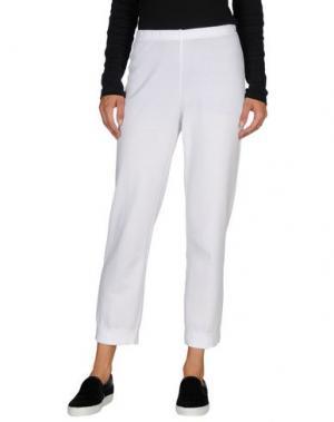 Повседневные брюки NEERA. Цвет: белый