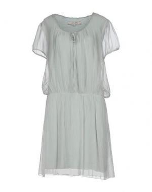 Короткое платье LA FEE MARABOUTEE. Цвет: светло-зеленый
