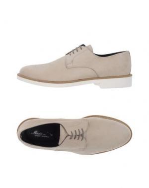Обувь на шнурках MARIO LUISO. Цвет: бежевый