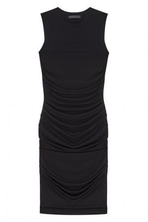 Однотонное платье Linta The Row. Цвет: черный
