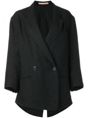 Пальто Jobo Nehera. Цвет: чёрный