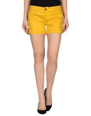 Повседневные шорты MACCHIA J. Цвет: желтый