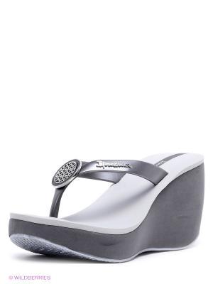Пантолеты Ipanema. Цвет: серый, серебристый