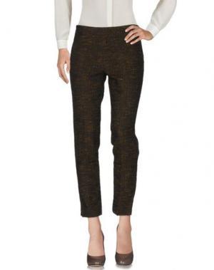 Повседневные брюки PT0W. Цвет: темно-коричневый