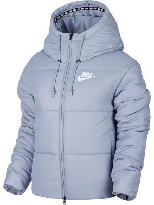 Куртка W NSW SYN FILL JKT HD Nike. Цвет: серый