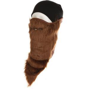Маска  Bearded Facemask Brown Neff. Цвет: коричневый