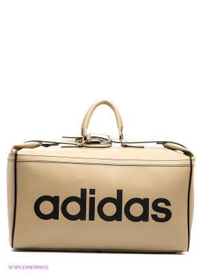 Сумка TEAMBAG PU Adidas. Цвет: светло-бежевый