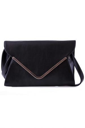 Клатч Vera bags. Цвет: черный