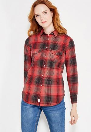 Рубашка Franklin & Marshall. Цвет: красный