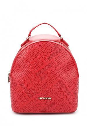 Рюкзак Love Moschino. Цвет: красный
