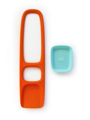 Лопата с ситом для песка и снега Quut Scoppi. (Mighty Orange). Цвет: оранжевый