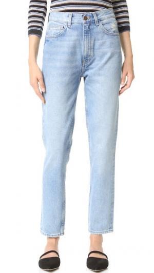 Джинсы-скинни Mimi с высокой посадкой M.i.h Jeans. Цвет: shan