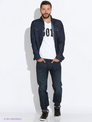 Рубашка Levi's®. Цвет: темно-синий