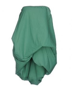 Бюстье RICK OWENS. Цвет: зеленый
