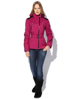 Куртка EA7. Цвет: лиловый