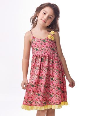 Платье Vilatte. Цвет: розовый